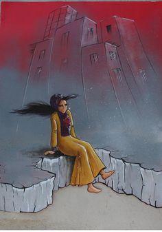 Du street art en Afghanistan? La première grapheuse du pays répand le féminisme sur les murs