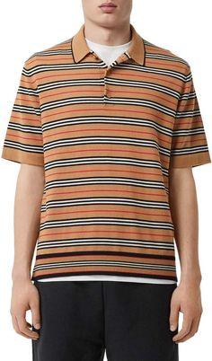 dc12c7f1 Mardi Gras Long Sleeve Polo Shirt (Thin Stripes) | Products