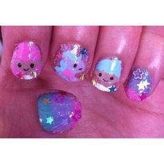 Little Twin Stars nail art