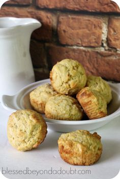 The very best coconut muffin recipe. They are so easy, too.