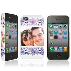 Telefoon case voor Iphone 4 / 4s met jouw eigen ontwerp.