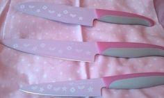 cute, kawaii, knives, pale, pastel, pastel goth, pink, soft grunge