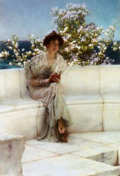 Sir Lawrence Alma-Tadema - The Year's at the Spring, All's Right with the World