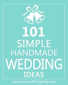 DIY wedding ideas -pin now, read later