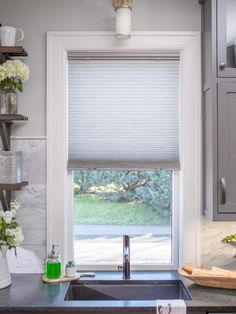20 Top Window Treatment Trends. Kitchen Window TreatmentsKitchen ...