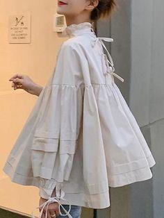 Damenoberteile - comingdress Source by Look Fashion, Fashion Details, Hijab Fashion, Fashion Dresses, Womens Fashion, Fashion Design, Moda Pop, Kleidung Design, Inspiration Mode