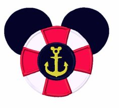 Boy Mouse Life Perserver Anchor Applique Machine by AppliquesByMe