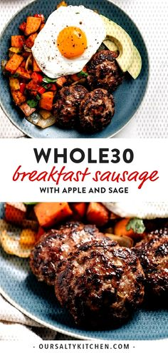 #glutenfree #grainfree #compliant #lifestyle #naturally #leftovers #breakfast #sausage... Whole30 Breakfast Sausage, Breakfast Sausages, Whole 30 Breakfast, How To Cook Sausage, Grain Free, Glutenfree, Meal Prep, Low Carb, Beef