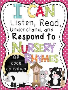 QR Code Booklets: Listening, Reading, Responding, and Unde