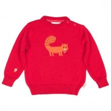 Tootsa MacGinty squirrel jumper. Check the little acorn on the sleeve for him to eat! £27
