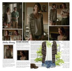 """""""Shelley Hennig as Malia Tate / Hale. { Teen Wolf - 5.06 Required Reading }"""" by albacampbell ❤ liked on Polyvore featuring Avenue, RVCA, Calypso St. Barth and Steve Madden"""