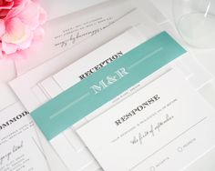 Loving these antique vintage wedding invitations by Shine!