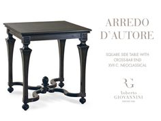 Our square side table takes care of all those things you like to have close by