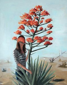 Everything Must Change . original oil painting by Clare Elsaesser http://www.nomad-chic.com