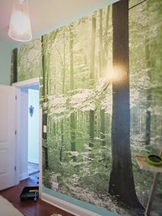 Flipping the Flip: Kapow! It's a Photo Wall Mural!