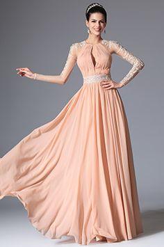 eDressit Pink Grecian Neckline Lace Evening Dress Prom Formal Gown (00147801)