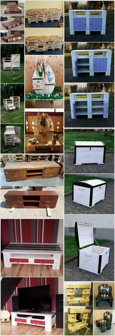Marvelous Recycling Ideas with Used Shipping Pallets