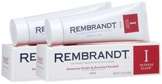 Rembrandt Intense Stain Whitening Toothpaste With Fluoride-3 oz, 2 ct (Quantity of 3) >>> Want additional info? Click on the image.