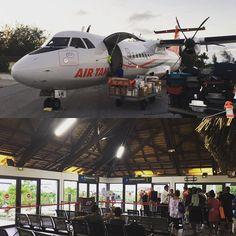 #BoraBora #Airport #AirTahiti #FrenchPolynesia #travel #reviewsbycouple