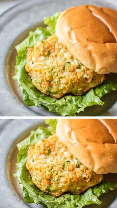 A gluten-free, meatless, hearty, healthy, high in protein alternative to a burger! These Veggie packed quinoa burgers are seasoned with cottage cheese and fresh vegetables! This tasty and fulfilling Vegetarian Burger is so easy to make! Save this pin! Vegetarian Recipes Videos, High Protein Vegetarian Recipes, Healthy Recipes, Healthy High Protein Meals, Raw Recipes, Dinner Recipes, Vegetable Burger Recipe, Veggie Sandwich, Queijo Cottage