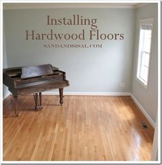 Installing Hardwood Floors by Sand and Sisal
