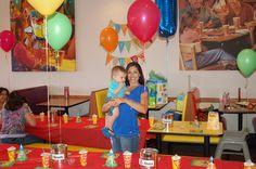 Sesame Street Birthday- Used Primary Colors
