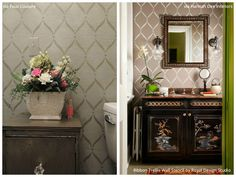 Stencil Ideas for 6 Dreamy DIY Bathroom Makeovers to Help You Relax & Unwind - Royal Design Studio