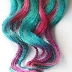 Image result for blue hair dye
