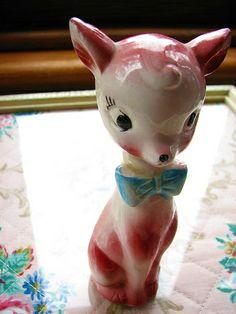 pink deer, via Flickr.