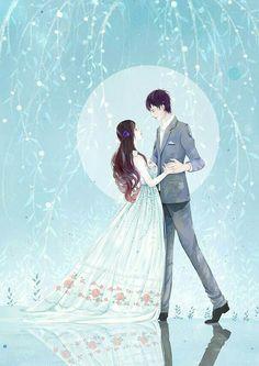 25 ♥️ Quotes That You Should Read - Winspira Manga Couple, Anime Love Couple, Couple Cartoon, Cute Anime Couples, Couple Illustration, Illustration Art, Cute Couple Art, Cartoons Love, Couple Drawings