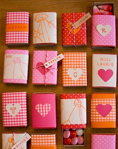 fun crafts to do with embroidery thread | Matchbox Valentines - Things to Make and Do, Crafts and Activities for ...