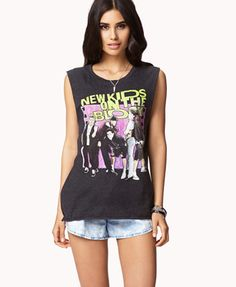 New Kids On The Block Muscle Tee | FOREVER 21 - 2051768640