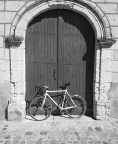 #Cycling through France.  I'm pretty sure I took almost the EXACT same pic of my bike and my apt