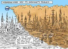 Environnement. L'Indonésie brûle – dans l'indifférence totale de la planète | Courrier international