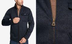Weatherproof Vintage Men s Aqua Shed Full-Zip Jacket 8b845814f