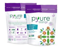 Pyure Sweeteners - Organic Stevia Blend. I find this at Walmart.  Beware of the baking blend version because it's not on plan.