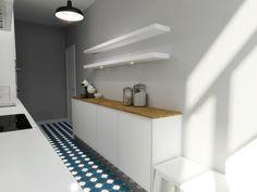 Casa da Rita e do Pedro  #study #render #kitchen #upcycled #storage #homedecor #cooking #furniture #interiors #interiordesign #homeinspiration #details #homesweethome #homestoriespt #umaobraumahistória