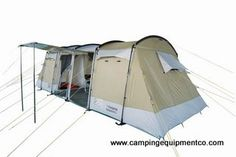 The Camping Equipment Company: USA - Capricorn 8 person family camping tunnel tent, $399.99 (http://www.campingequipmentco.com/capricorn-8-person-family-camping-tent/)