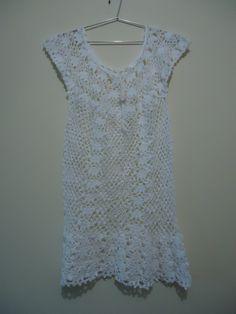 Aline Crochê: Vestido ou saida de praia de croche