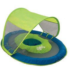 Introduce your baby to the pool with the SwimWays Baby Spring Float Sun Canopy baby float! Designed to provide a more comfortable and secure water introduction . Babies R Us, Baby Kids, Cute Babies, Our Baby, Baby Love, Baby Swim Float, Baby Swimming, Swimming Pools, Baby Must Haves
