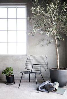 WM String Lounge Low armchair - Steel by Menu