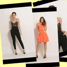 Love this look. Www.bezoo.com#jumpsuit#party#skater dress
