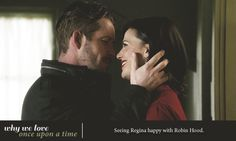Seeing Regina happy with Robin Hood.  One of my favorite things ever <3