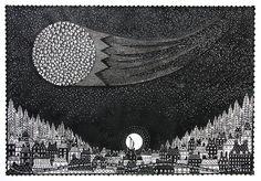 'Look Closer' Beautiful papercut by Rob Ryan