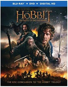 The Hobbit: The Battle of the Five Armies (Blu-ray + DVD + Digital HD UltraViolet Combo Pack): disclosure affiliate link http://www.amazon.com/gp/product/B00R3DO58K/ref=as_li_tl?ie=UTF8&camp=1789&creative=390957&creativeASIN=B00R3DO58K&linkCode=as2&tag=epimovnowandt-20&linkId=26ZV5RRLRZXALXHK