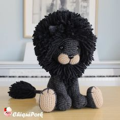 Free amigurumi doll and animal crochet patterns are waiting for you. You can find everything about Amigurumi. Lion Crochet, Crochet Elephant, Crochet Amigurumi, Amigurumi Doll, Crochet Animals, Crochet Baby, Free Crochet, Crochet Hook Sizes, Crochet Hooks