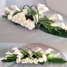 How to Arrange Flowers - Flower Arranging Tips Funeral Flower Arrangements, Modern Flower Arrangements, Funeral Flowers, Table Arrangements, Montreal Botanical Garden, Casket Sprays, Wedding Set Up, Arte Floral, Ikebana
