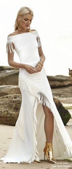 Rue de Seine Moonlight Magic Boho Wedding Dress ARIA_WEBSITE #weddings #dresses #weddingideas #lace