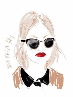 To bleach or not to bleach? Open Toe, fashion illustrated Opentoeillustration.com  M'è tornata la voglia di avere i capelli chiarissimi, praticamente bianchi. I parrucchieri me lo sconsigliano da sempre, eppure trovo che essere algida mi doni in qualche modo: la pelle azzurra sem...