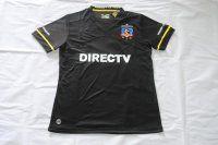 Colo-Colo 2016-17 Season Away Black Soccer Shirt